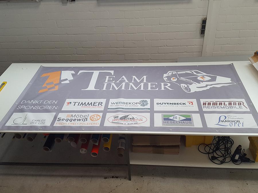 Banner-Timmer-Werbekopf-Reken