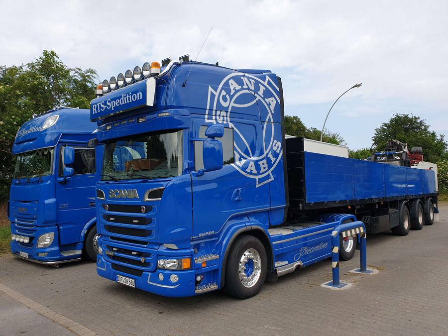 Beschriftung Scania Vabis